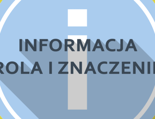 Informacja – rola iznaczenie