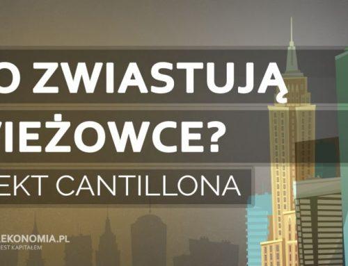 Co zwiastują wieżowce? | Efekt Cantillona
